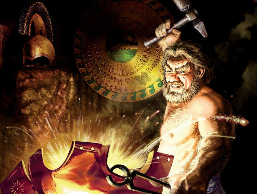Hephaestus Antik Yunan Mitolojisi'nde Demirci Tanrı olarak geçer.