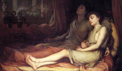 Hipnoz (Hypnos) Yunan Mitolojisinde Uyku Tanrısıdır.