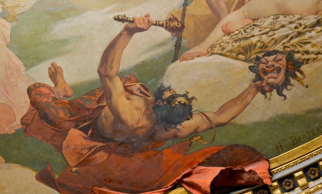 Momus Yunan Mitolojisinde Hiciv Tanrısıdır.