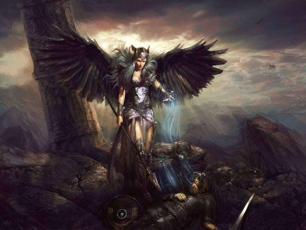 Keres yunan mitolojisinde ölümün vahşi tarafını simgeler.