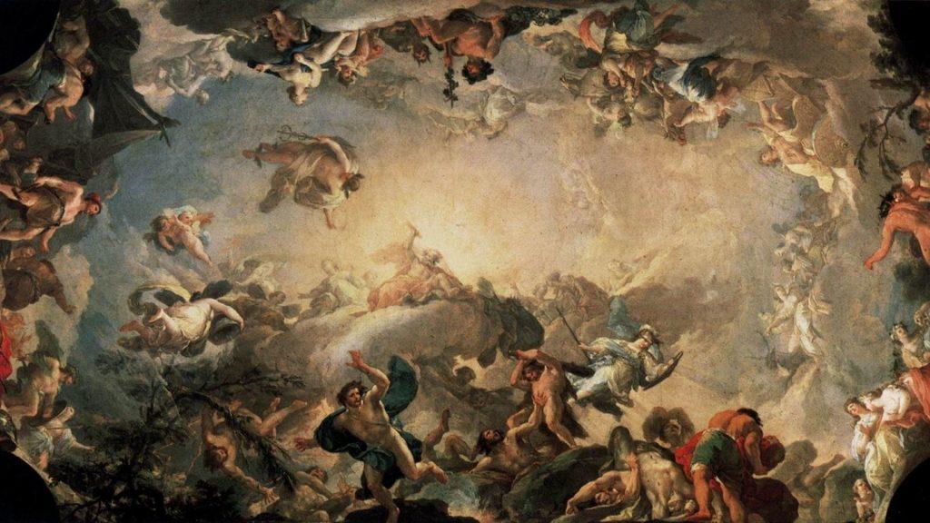 Mitoloji Nedir? (Yunan Mitolojisi Tasvir Eden Bir Eser)
