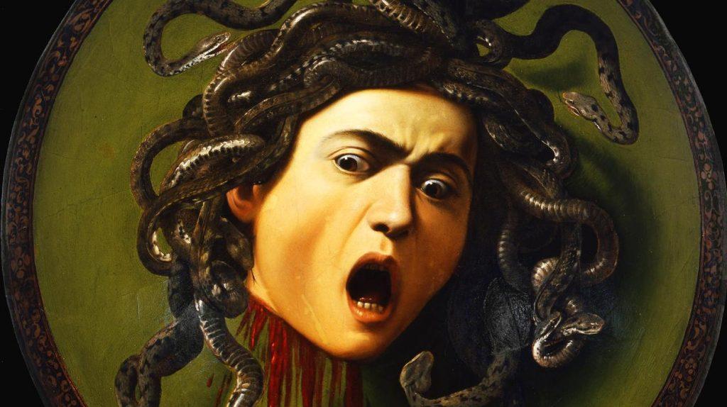 Medusa Caravaggio Ufizzi