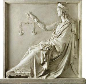 Themis - Tanrıça Themis Heykeli